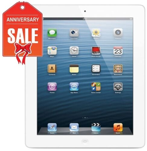 R-D RETINA Wi-Fi UNLOCKED 64GB 3G BLACK or WHITE Apple iPad 3rd Gen