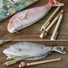 Kreativ Fisch Federtasche Schlamper Stifteetui Pencilcase Mäppchen Federmappe SE