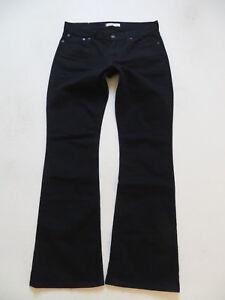 Levi-039-s-529-Bootcut-Jeans-Hose-W-32-L-34-Schwarz-Black-Stretch-Denim-TOP