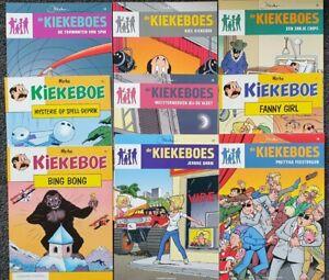 De Kiekeboes - Dutch Comics Nederlands - Very Good Condition SAME DAY SHIPPING