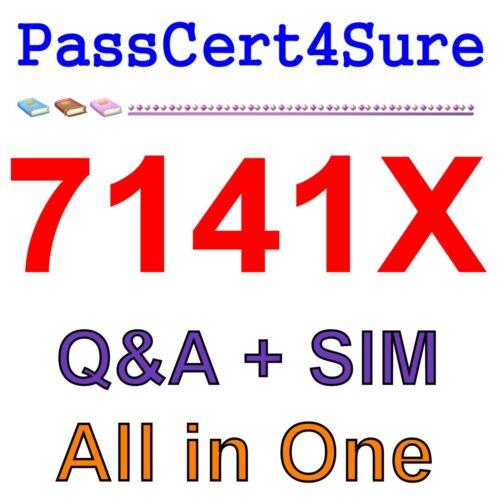 Avaya Equinox Solution with Avaya Aura Collaboration App 7141X Exam Q/&A PDF+SIM