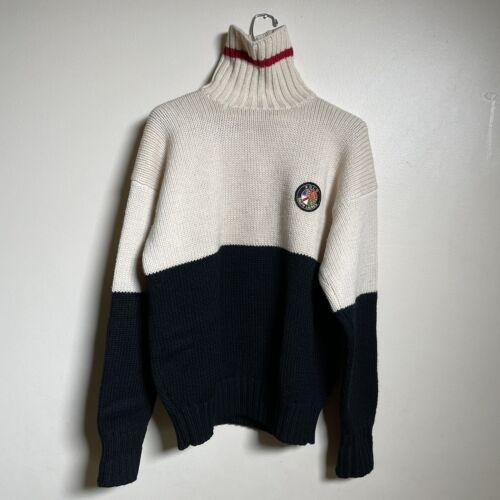 Vintage POLO Ralph Lauren Ski Wool Sweater Cookie