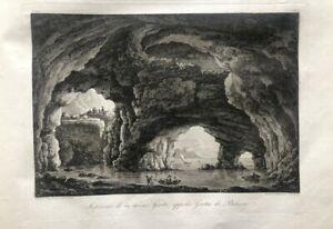 Atzradierung-Forte-18-Jahrhundert-Grotta-Di-Palazzo-Italien-der-Muehlen