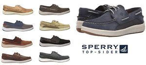 SPERRY-Top-Sider-Men-039-s-NEW-GameFish-3-Eye-Boat-Shoes-Slip-On-Leather-Shoes