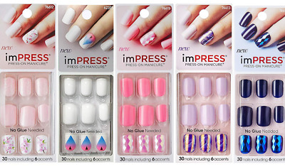 KISS IMPRESS NAILS ONE STOP GEL BUY 1 GET 1 FREE | eBay