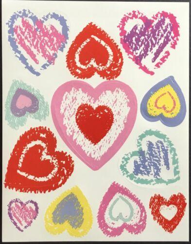 Vintage Stickers Mint Condition!! Valentine's