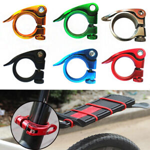 Fixed-Outdoor-Sport-Aluminum-Alloy-Seatposts-Clamp-Quick-Release-Bicycle-Parts