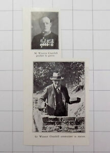 1934 Winston Churchill During The War & Building His House Kxiq3oe6-08004559-762731596