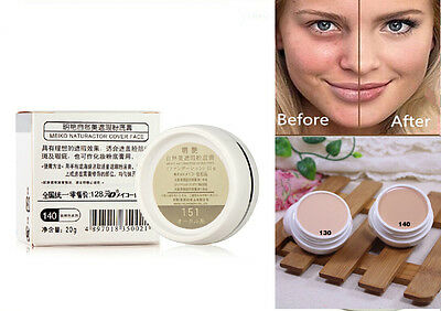 Magic Cover Cream Whitening Skin Care Makeup Make up Foundation Concealer 20g