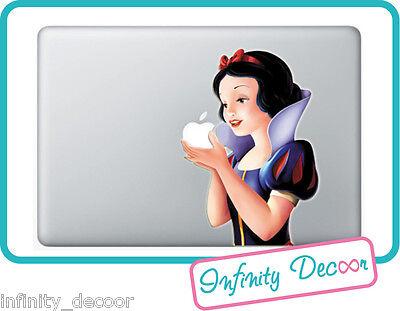 Generoso Adesivo Biancaneve Per Mac Book Pro/air 13 - Stickers Snow White Macbook 13
