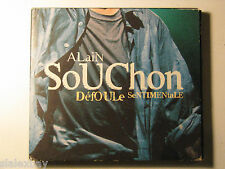 Defoule Sentimentale Live Digipack IMPORT Alain SOUCHON CD 1998 VIRGIN CHANSON