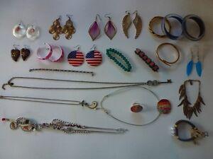 lot bijoux fantaisie 22 pièces