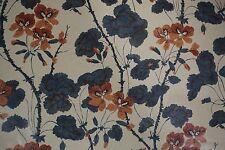 Hodsoll McKenzie Fabric GERANIUM Bernard Nevill Design Printed England BY YARD