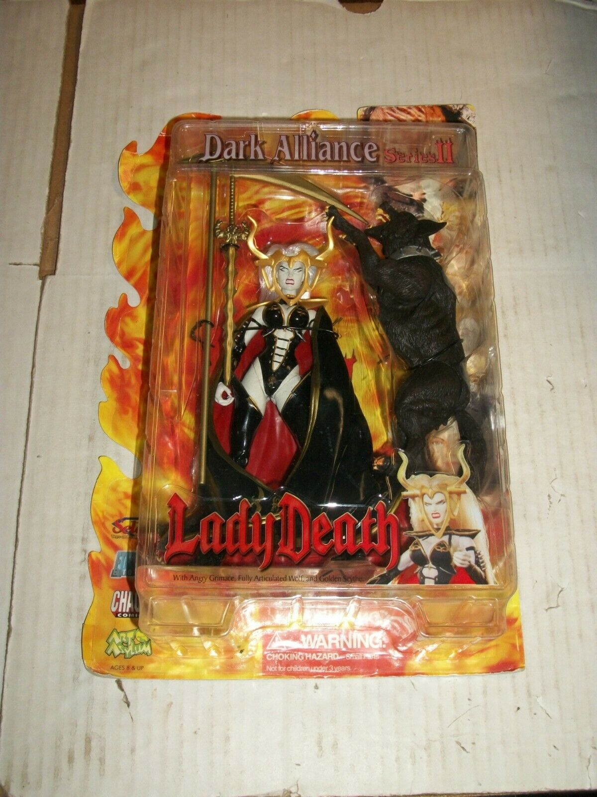 Chaos Diamond Select LADY DEATH & WOLF Dark tuttiiance Series II cifra