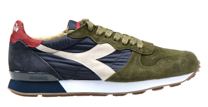 Diadora Heritage Camaro H S Sw Shoes Man Sneakers Leather Suede Vintage