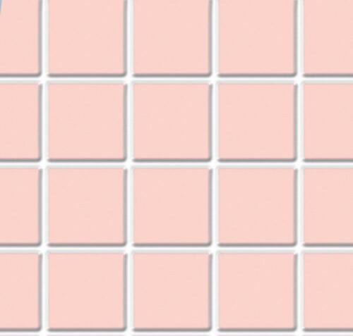 Puppenhaus Pink Fliese Bodenbelag Blatt Geformter Kunststoff Miniatur 1:12 Kalk