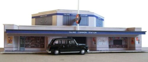 Ealing Common underground station Kingsway 00 scale Kit build service.
