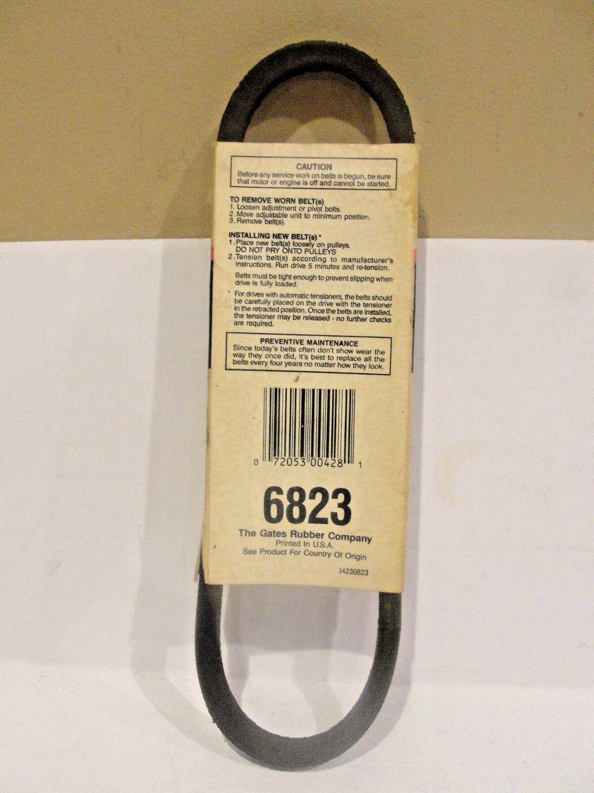 Gates 6823 Powerated Belt