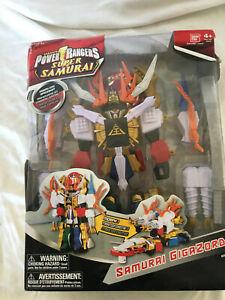 Power-Rangers-Super-Samurai-Gigazord-Aciton-Figure-New-with-Damaged-Box