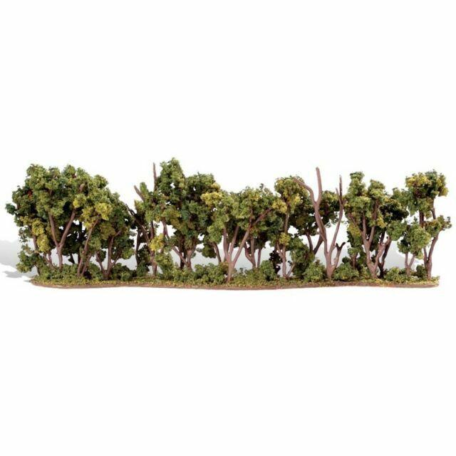 Hedgerow 4in OO//HO trees Woodland Scenics TR3582