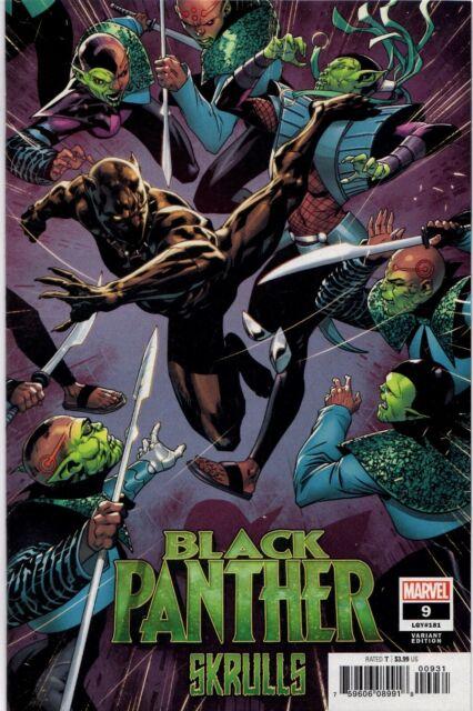 Marvel Comics BLACK PANTHER #9 Secret Skrull Variant Avengers