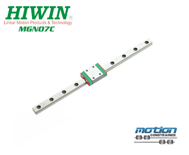 New Hiwin MGN7C Linear Guides MGN Series Linear Bearings   25mm to 595mm Long