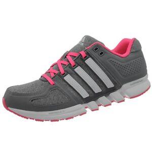 f1d69b140ff600 Das Bild wird geladen Adidas-Runbox-CC-W-Damen-Laufschuhe-grau-weiss-