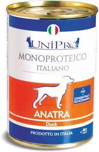 Unipro-Umido-monoproteico-cane-12x400gr-ANATRA
