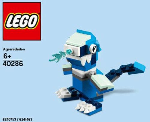 LEGO 40286 November 2018 Mini Ice Dragon ploybag store Exclusive new sealed