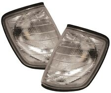 MERCEDES 200-300 E CLASS W124 85-97 CLEAR FRONT INDICATORS REPEATERS LIGHTS