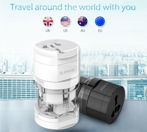 Universal Plug Electrical Adapter Portable Power Socket Outlet All in One Travel