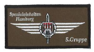 Abzeichen Polizei Hamburg SEK Spezialeinsatzkommando 5. Gruppe