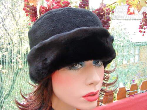 Damen Mütze Fleecemütze Webpelz 3 Farben Strickmützen Damenhut Winter warm