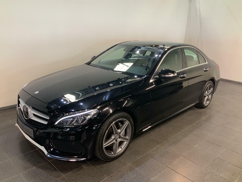 Mercedes-Benz C200 2,0 AMG Line aut.