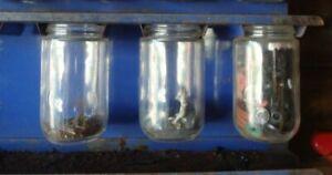 Vintage JAR ONLY AC Hot Tip Spark Plugs Store Display Rack  Auto Car Parts