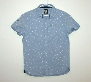Superdry-Ultimate-Oxford-Short-Sleeve-Shirt-Size-Large