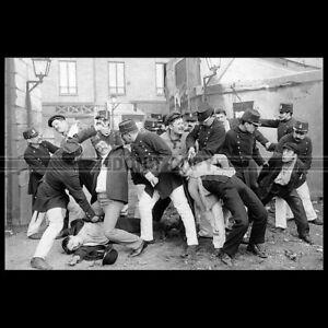 Photo F.000411 LES APACHES DE PARIS (FERDINAND ZECCA MOVIE) 1905