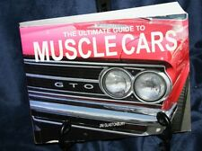 THE ULTIMATE GUIDE TO MUSCLE CARS JIM GLASTONBURY