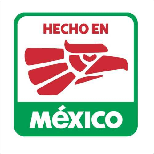 HECHO EN MEXICO Hard Hat 3M Graphic Sticker Mexican Oilfield Trash Waterproof