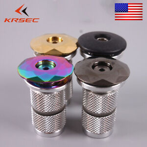"BICYCLE HEADSET CAP 1-1//8/"" ALLOY CRUISER BMX MTB FIXIE TRACK CYCLING BIKES"