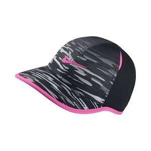 2937961cdcb NEW! Black Pink Grey NIKE YOUTH Unisex Golf Cap DRI-FIT Tennis ...
