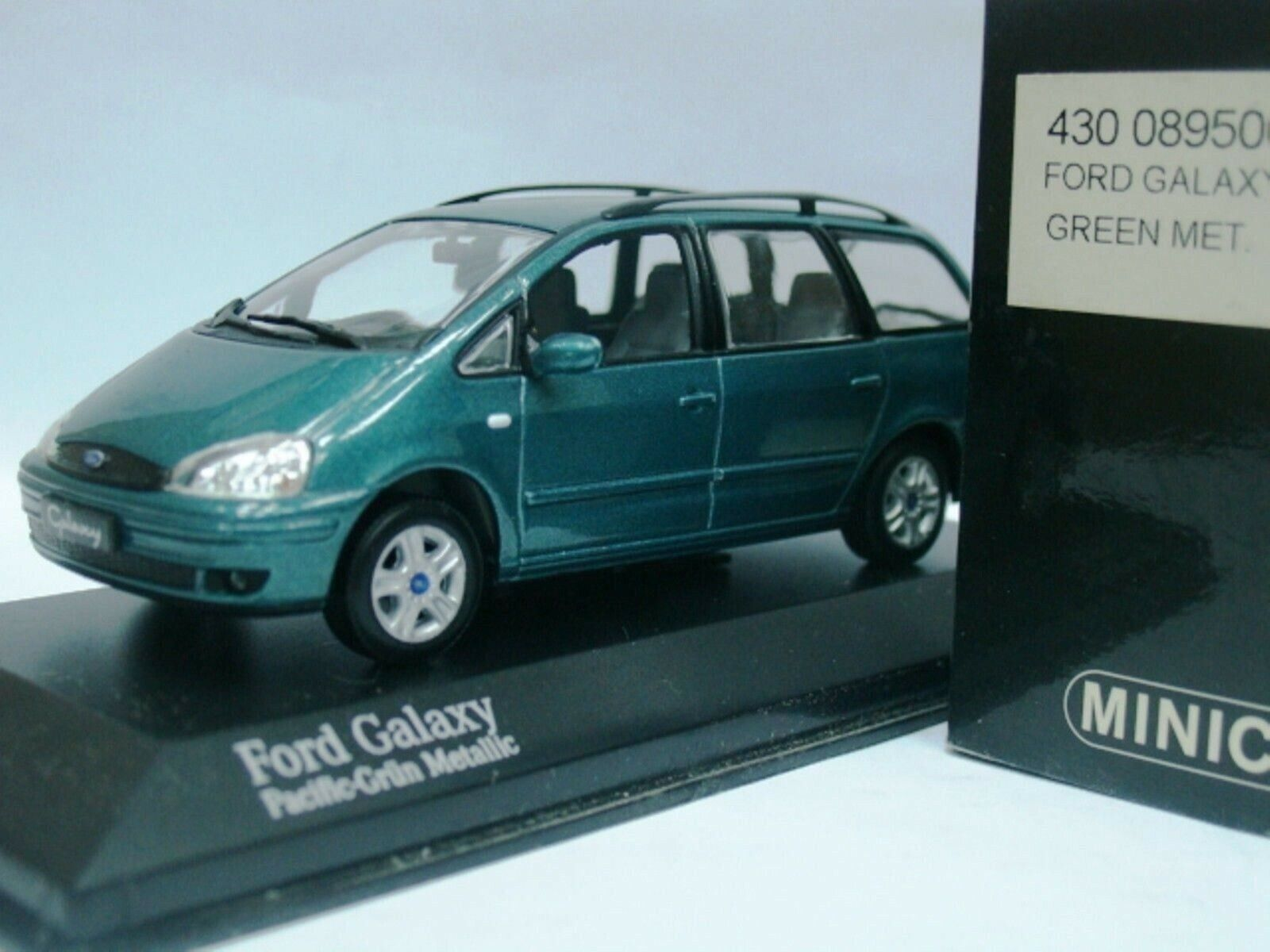 WOW EXTREMELY RARE Ford Galaxy 2.3 16V 2000 Grün Pearl 1 43 Minichamps-RS VR6