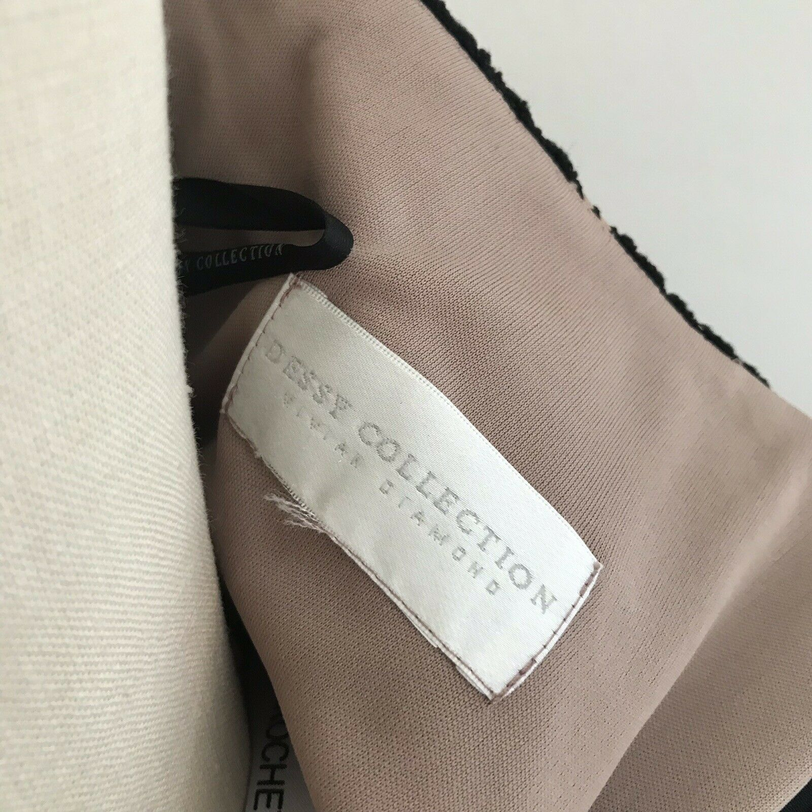 Dessy Collection Gown Black Lace One Shoulder Dre… - image 5