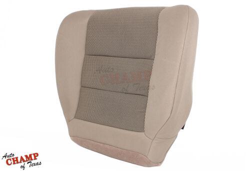 2007 Ford F250 F350 XLT X-Cab Quad-Cab Driver Side Bottom Cloth Seat Cover Tan