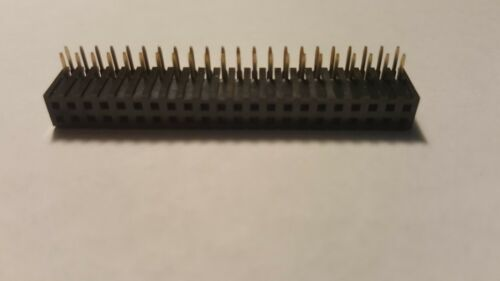 CONN HEADER 2MM DUAL THRU HOLE 44 P RIGHT A Lot of 13 PPPN222FJFN-RC SULLINS