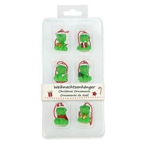 Interrompu- Délicieux Ornements de Noël (Geckos) Par BLUE BUG-Lot de 6-afficher le titre d`origine ERzue2Sb-07183218-527352330