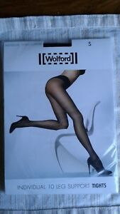 Wolford Individual 10 Leg Support Tights Black S Ideal If You Work In Retail !