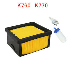 Air Filter Kit Fits For Husqvarna K760 K770 Accessory Parts Cut Off Durable