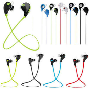 Bluetooth V4.1 Wireless Headset Sports Stereo Headphone Earphone For iphone htc
