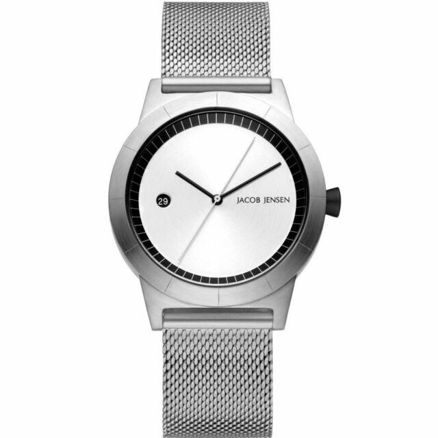7f43f9908 Jacob Jensen 152 Ladies Stainless Steel Mesh Strap Watch Jj152